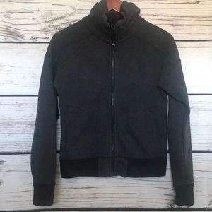 Lululemon heathered gray sweater